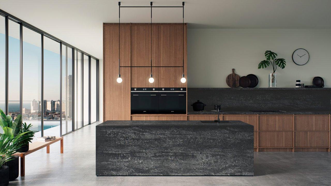Black Tempal 5810 Caesarstone009_Granit.in.ua